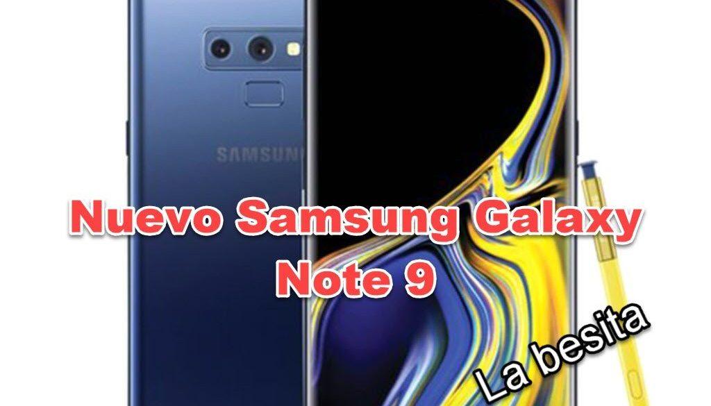 nuevo Samsung Galaxy Note9